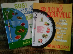 Six O'Clock Scramble cookbooks