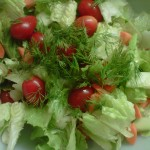 Salad with Fresh Herbs