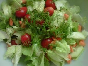 Salad with Fresh Herbs