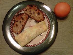 Breakfast Meal Plate