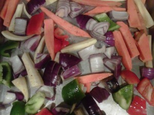Colorful Roasted Veggies