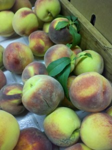 Summer peaches