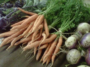 Carrots at Farmer's Mkt