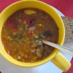 Homemade lentil Soup