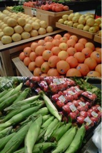 Fresh produce isn't the only place to find fresh and healthy choices!