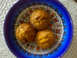 Pumpkin Muffins are a Healthy Snack!