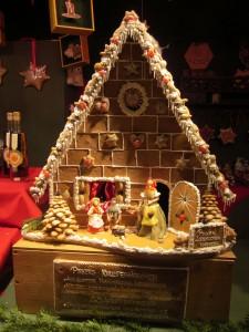 Austrian gingerbread house