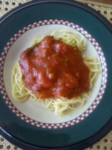 Homemade Marinara Spaghetti Sauce