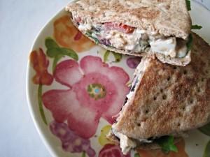 A new, Greek Twist on egg salad!