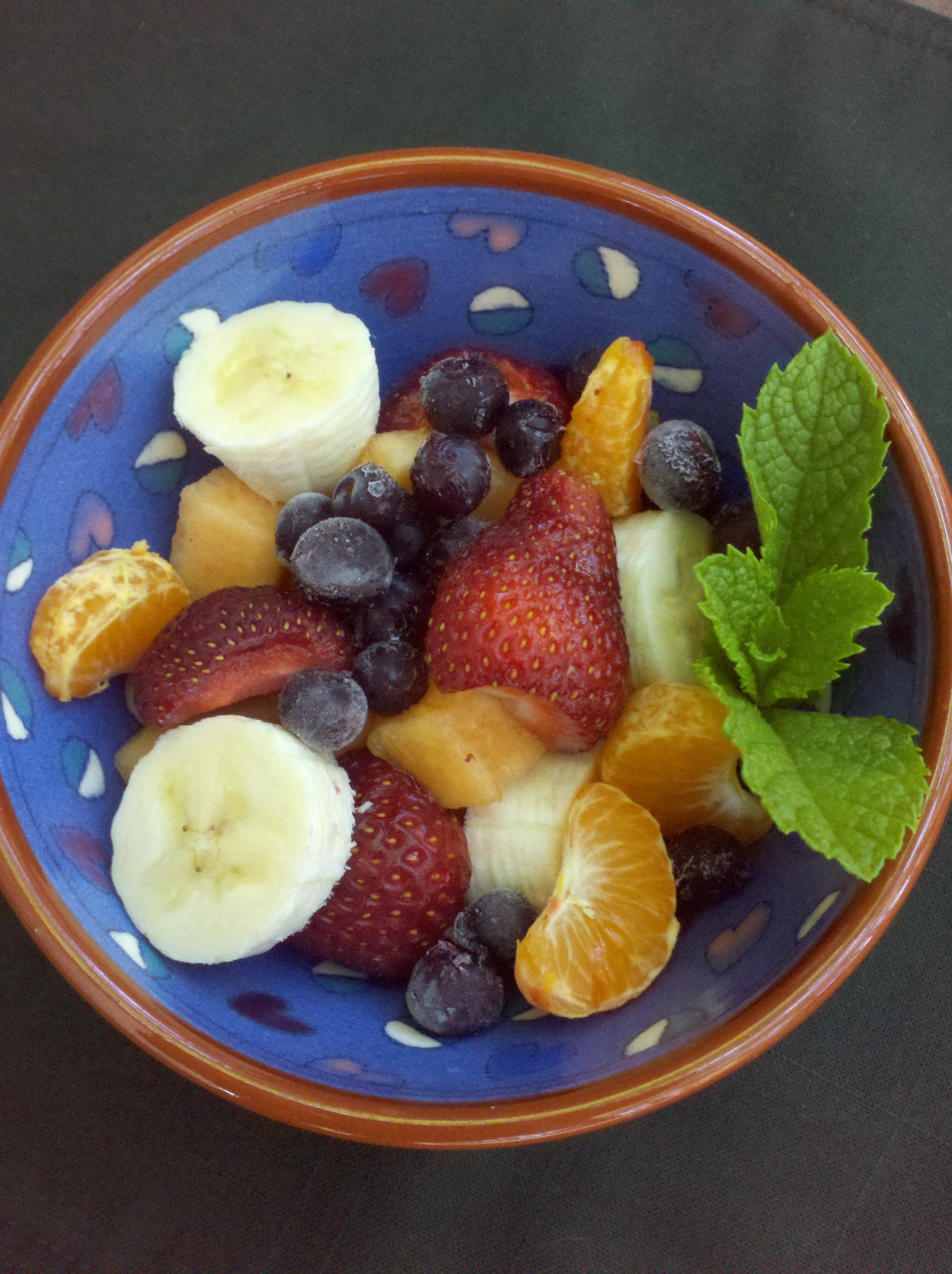 how to make a fruit salad healthy fruit cobbler