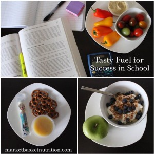 Tasty fuel for success in school