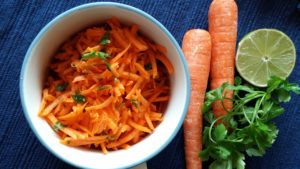 Tangy Carrot Salad