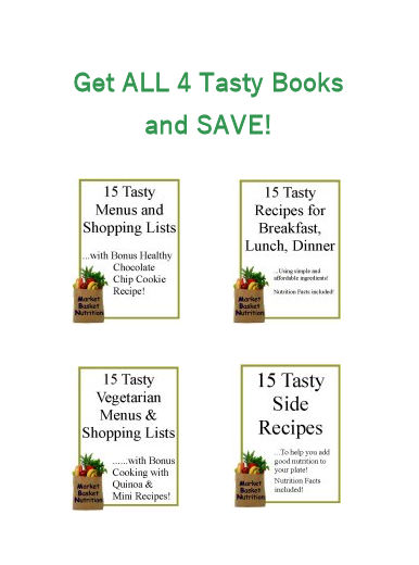 4 Tasty Book Bundle