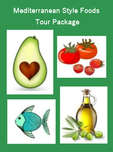 Mediterranean Style Foods Tour Package