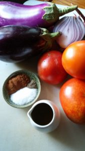 A Healthy Eggplant Recipe called Yakne!