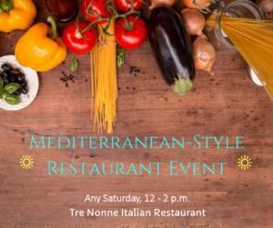 Mediterranean Style Restaurant Events